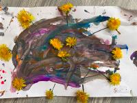 Petit bricolage simple : des fleurs au soleil Petit-4