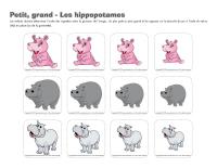 Petit grand-Les hippopotames