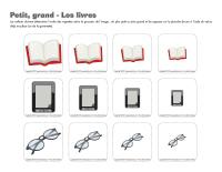 Petit grand-Les livres