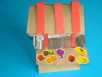 Petit kiosque de fruits et légumes - 1