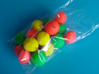 Petit sac de pommes à suspendre-5