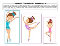 Petites et grandes-ballerines