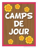 Photomaton-Camps de jour