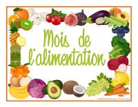 Photomaton-Mois de L'alimentation