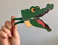 Pince crocodile