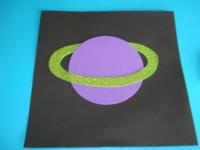 Planète colorée ciel étoilé - 4