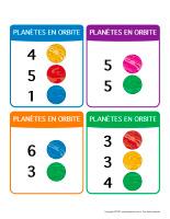 Planètes en orbite
