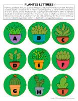 Plantes lettrées
