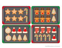 Plaques à biscuits de Noël-1