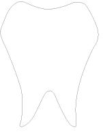 Pochoirs-La santé dentaire