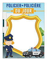 Policier-Policière d'un jour