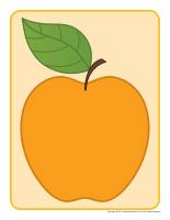 Pommes colorées
