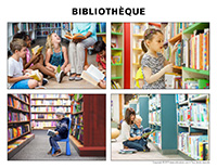 Poni découvre et présente-Bibliothèque
