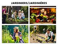 Poni découvre et présente-Jardiniers-Jardinières