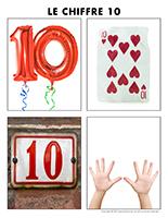 Poni découvre et présente-Le chiffre 10