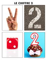 Poni découvre et présente-Le chiffre 2