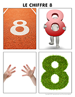 Poni découvre et présente-Le chiffre 8
