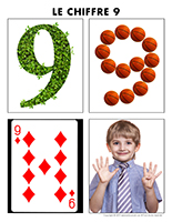 Poni découvre et présente-Le chiffre 9