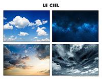 Poni découvre et présente-Le ciel