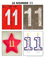 Poni découvre et présente-Le nombre 11