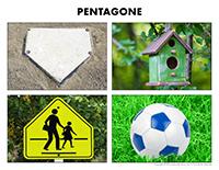 Poni découvre et présente-Le pentagone