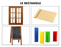Poni découvre et présente-Le rectangle