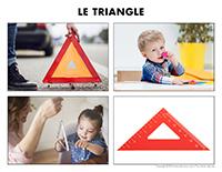 Poni découvre et présente-Le triangle