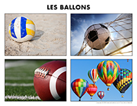 Poni découvre et présente-Les ballons