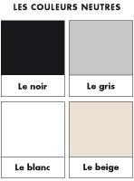 Poni découvre et présente-Les couleurs neutres