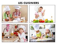 Poni découvre et présente-Les cuisiniers