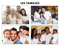Poni découvre et présente-Les familles