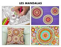 Poni découvre et présente-Les mandalas