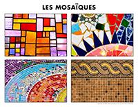 Poni découvre et présente-Les mosaiques