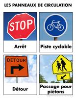 Poni découvre et présente-Les panneaux de signalisation