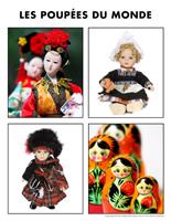 Poni découvre et présente-Les poupées du monde