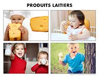Poni découvre et présente-Les produits laitiers