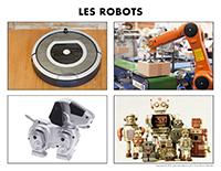 Poni découvre et présente-Les robots