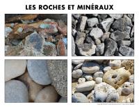 Poni découvre et présente-Les roches et minéraux