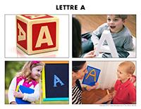 Poni découvre et présente-Lettre A