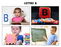 Poni découvre et présente-Lettre B