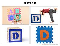 Poni découvre et présente-Lettre D
