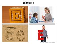 Poni découvre et présente-Lettre E