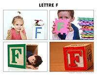 Poni découvre et présente-Lettre F