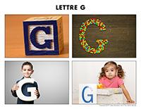 Poni découvre et présente-Lettre G