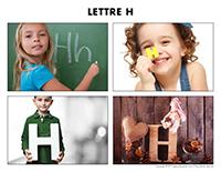 Poni découvre et présente-Lettre H