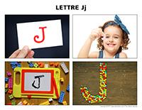 Poni découvre et présente-Lettre J