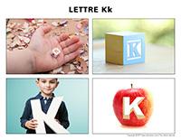 Poni découvre et présente-Lettre K