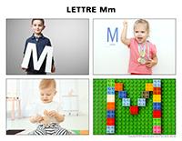 Poni découvre et présente-Lettre M