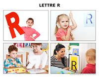 Poni découvre et présente-Lettre R