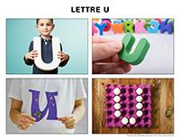 Poni découvre et présente-Lettre U
